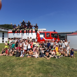 Brandschutztag der Klassen 4
