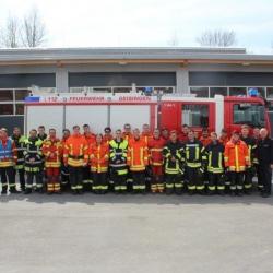 Zahlreiche neue Feuerwehrleute