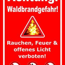 Erhöhte Waldbrandgefahr auch im Landkreis Tuttlingen